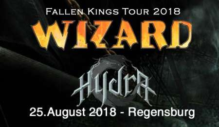 Wizard Fallen Kings Tour 2018